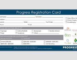 #34 для Design a Registration Card от ferisusanty