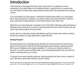 """#2 for Write an article titled """"Top 5 Best Gaming Projectors Of 2018"""" by rakeshnarang"""