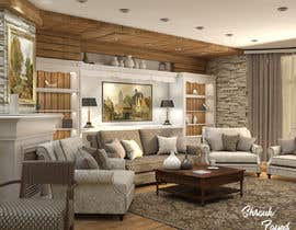 #12 for Interior design living room by shroukalyfayed