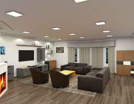 #15 untuk Interior design living room oleh souragnighosh