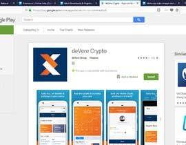 "nº 1 pour Most Downloads & Register using code: AL91GE463 to ""Devere Crypto"" app par GaziJamil"