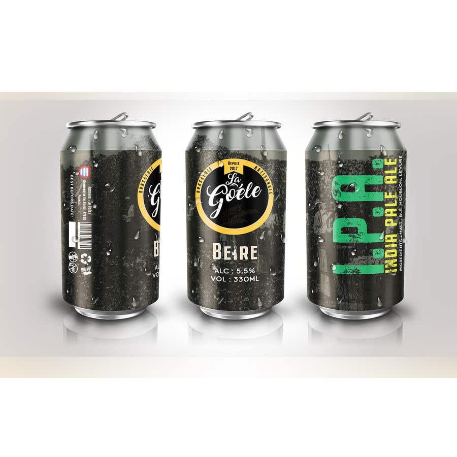 Конкурсная заявка №4 для Artwork for beer Can Label