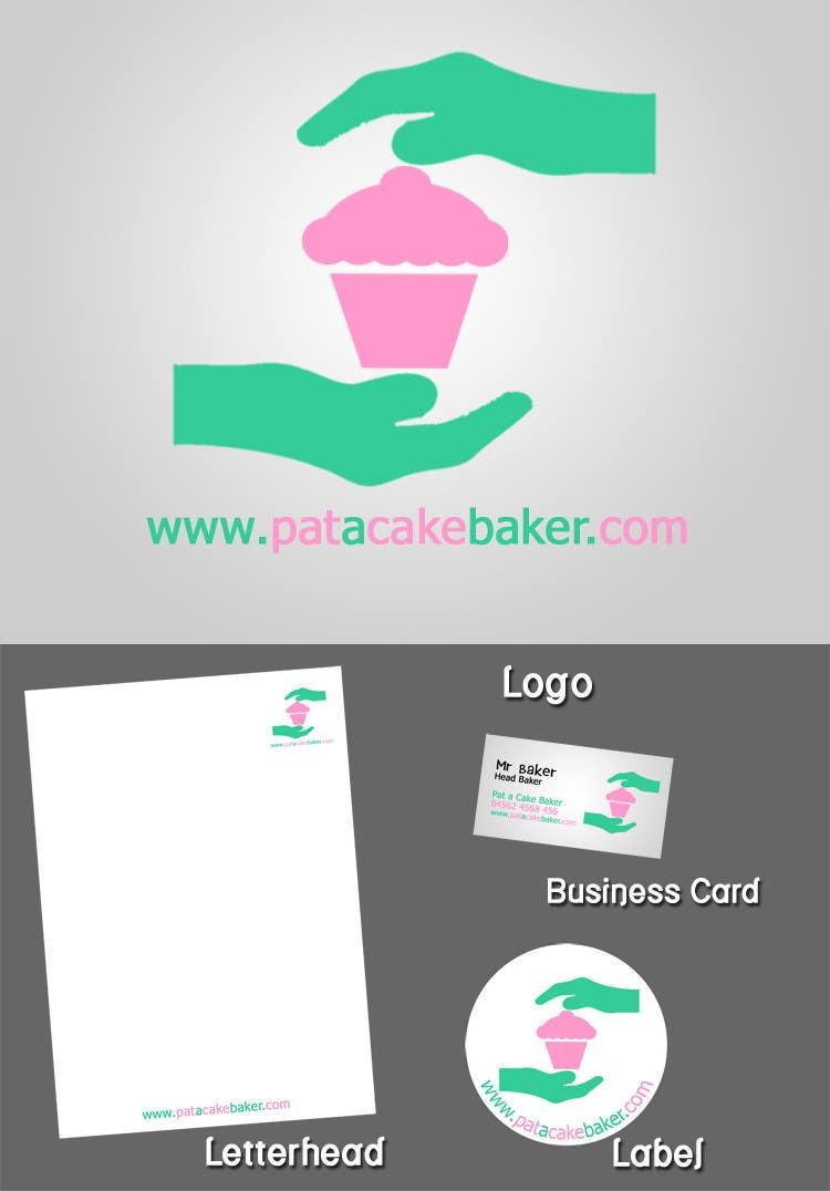 Konkurrenceindlæg #                                        5                                      for                                         Logo Design for Pat a Cake Baker