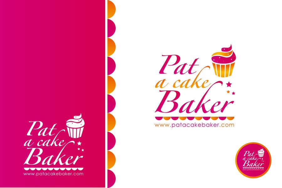 Konkurrenceindlæg #                                        7                                      for                                         Logo Design for Pat a Cake Baker