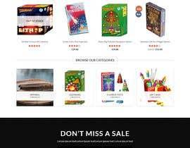 Nro 7 kilpailuun Design a Website for Online Firework sales käyttäjältä monowara9850