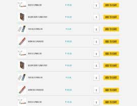 Nro 21 kilpailuun Design a Website for Online Firework sales käyttäjältä BadWombat96