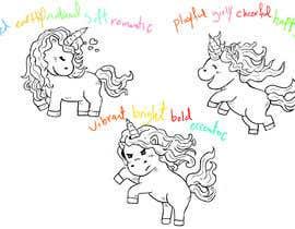 Nro 6 kilpailuun Sketch three unicorn stickers käyttäjältä ibrahimkaldk