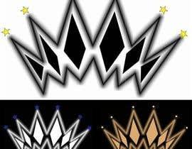 nº 16 pour A simple custom crown logo for a skater/hip hop brand par GreciaDG