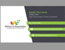 nº 77 pour Business Cards - Willow par rakibulislam3399