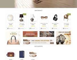 Nro 7 kilpailuun Website Re-design & Product portfolio addition käyttäjältä gourangoray523