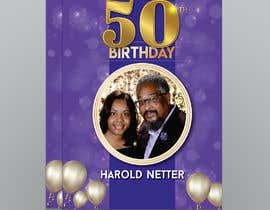 nº 27 pour 50th Birthday Flyer par aatir2