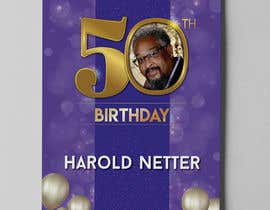 nº 38 pour 50th Birthday Flyer par aatir2
