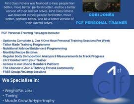 nº 63 pour Personal Training Flyer/Poster 2 par morningbreeze20