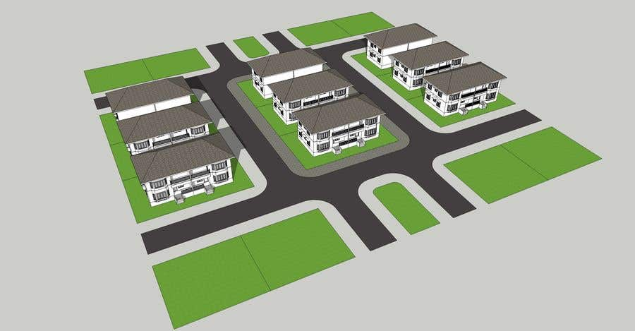 Proposta in Concorso #10 per Rendering and Visualisation of residential buildings and estates