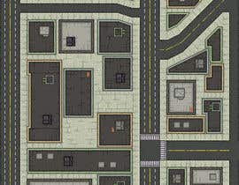 #11 para Top Down City Map View por cecihoney