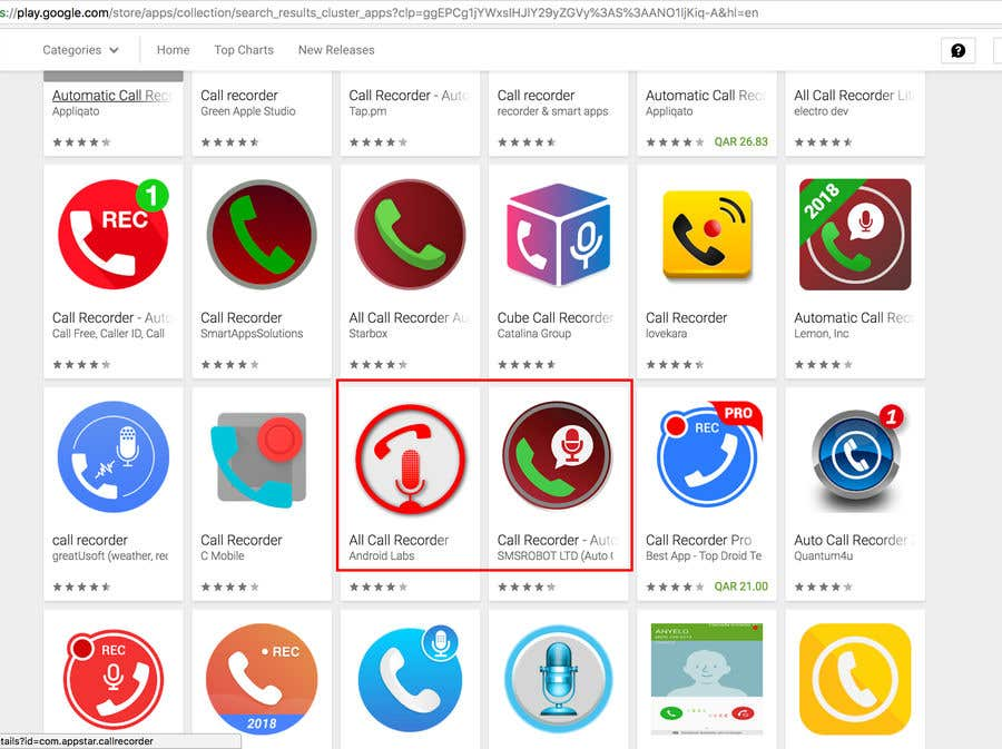 Entry #8 by abdullahalmmn6 for Design App Icon for Call
