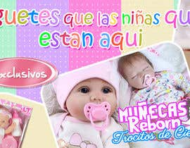 #12 , Diseñar Banner Muñecas Juguetes 来自 ARMANDOPANTOJA