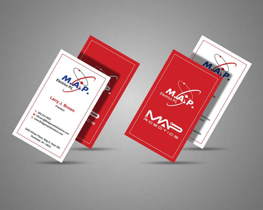 Entry 11 by risfatullah for map business cards freelancer contest entry 11 for map business cards colourmoves