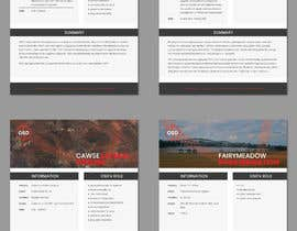 nº 30 pour Project Information Sheets par irenevik