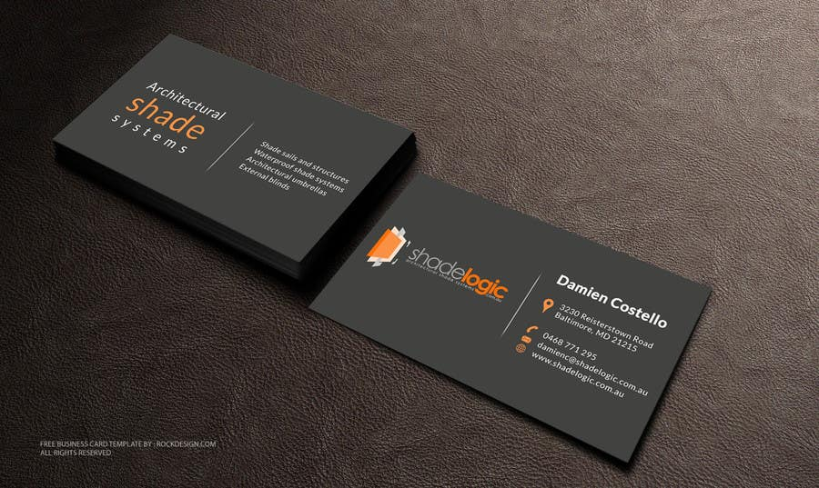 Entry #86 by smshahinhossen for Design some Business Cards for new ...