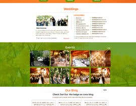 nº 3 pour PSD Redesign of Wedding Directory Site par MagicalDesigner