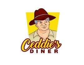 #37 untuk Sign/Logo - Ceddie's DINER oleh NewSeedStudio17