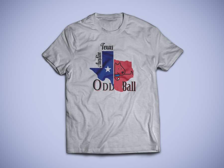 """Inscrição nº 122 do Concurso para Tshirt Design for a Group of Owners of Dog Daycares """"The ODD ball!"""