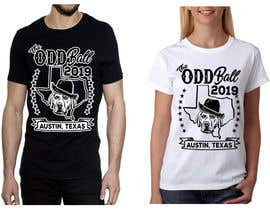 "#121 para Tshirt Design for a Group of Owners of Dog Daycares ""The ODD ball! por feramahateasril"