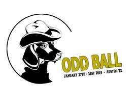 "#34 para Tshirt Design for a Group of Owners of Dog Daycares ""The ODD ball! por gearydarren"