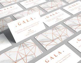 nº 32 pour I need some graphic design. For business card and price tag , my company name is GALA , color: rose gold & off white. par angelacini