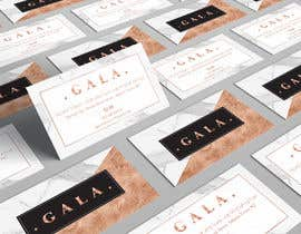 nº 37 pour I need some graphic design. For business card and price tag , my company name is GALA , color: rose gold & off white. par angelacini