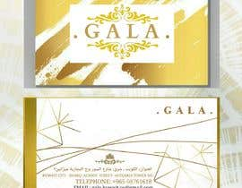 nº 40 pour I need some graphic design. For business card and price tag , my company name is GALA , color: rose gold & off white. par Saran2u