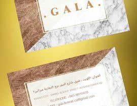 #43 for I need some graphic design. For business card and price tag , my company name is GALA , color: rose gold & off white. af Saran2u