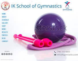 #33 para Website Design for ik gymnastics LLC por datagrabbers