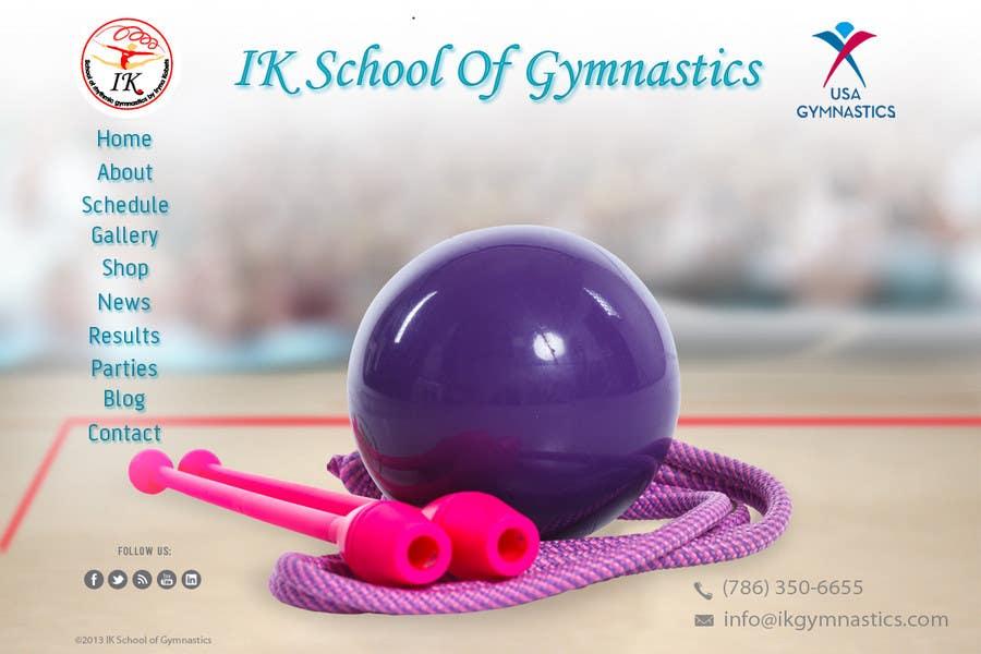 #60 for Website Design for ik gymnastics LLC by datagrabbers