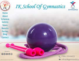 #67 para Website Design for ik gymnastics LLC por datagrabbers