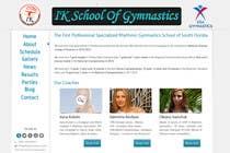 Contest Entry #73 for Website Design for ik gymnastics LLC