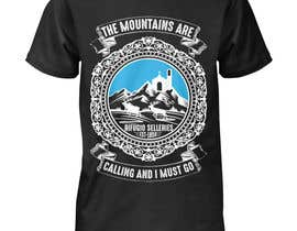 #15 for Design a t-shirt celebrating a mountain lodge by hanifshaikhg