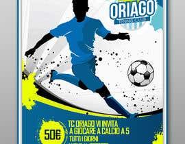 #102 untuk Futsal Flyer oleh luisanacastro110