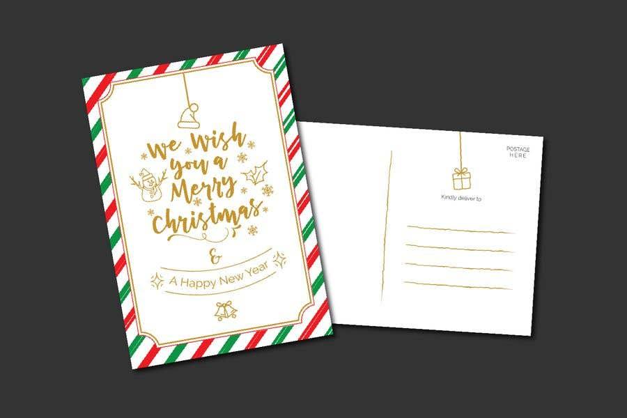 Konkurrenceindlæg #9 for Christmas Postcard Design (front/back)