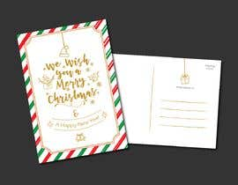 #9 for Christmas Postcard Design (front/back) af wahwaheng
