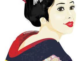 #17 untuk Improve and finish Geisha design for T shirt oleh letindorko2