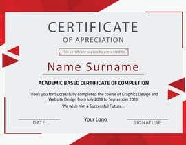 nº 25 pour Certificate Design par Lasar88