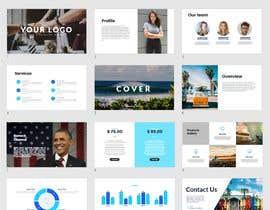 Nro 35 kilpailuun 6 page PowerPoint Template for Financial Information Teaser käyttäjältä btnavarro