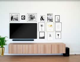#44 for Design a photo frame wall by awdesign11