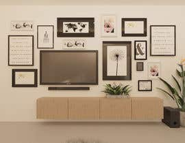 #43 for Design a photo frame wall by nehalhasemnh