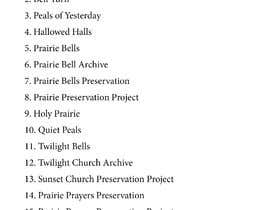 #20 für Need name for prairie churches' project / website von slogans4nothing