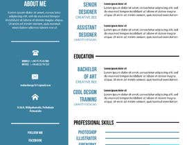 #61 for Design my Resume / CV by TheDesignerA