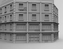 Nambari 21 ya 3D Model Miniature WW2 Building Hexagon na andricandrijana