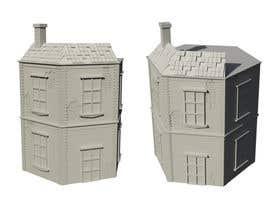 Nambari 11 ya 3D Model Miniature WW2 Building Hexagon na Ab13Abraham